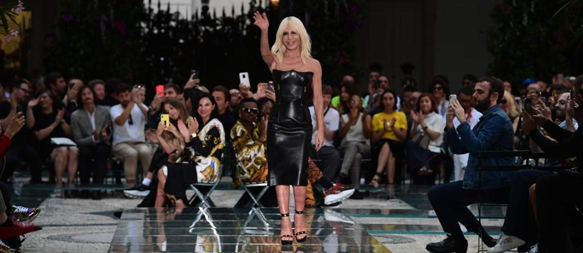 Donatella Versace (Afp)